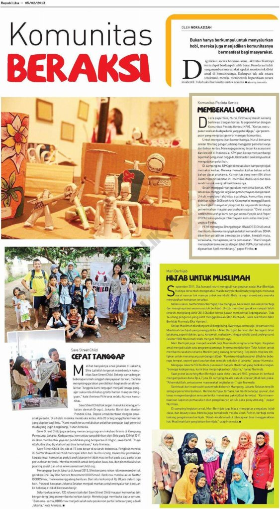 Leisure Republika (5 Februari 2013)